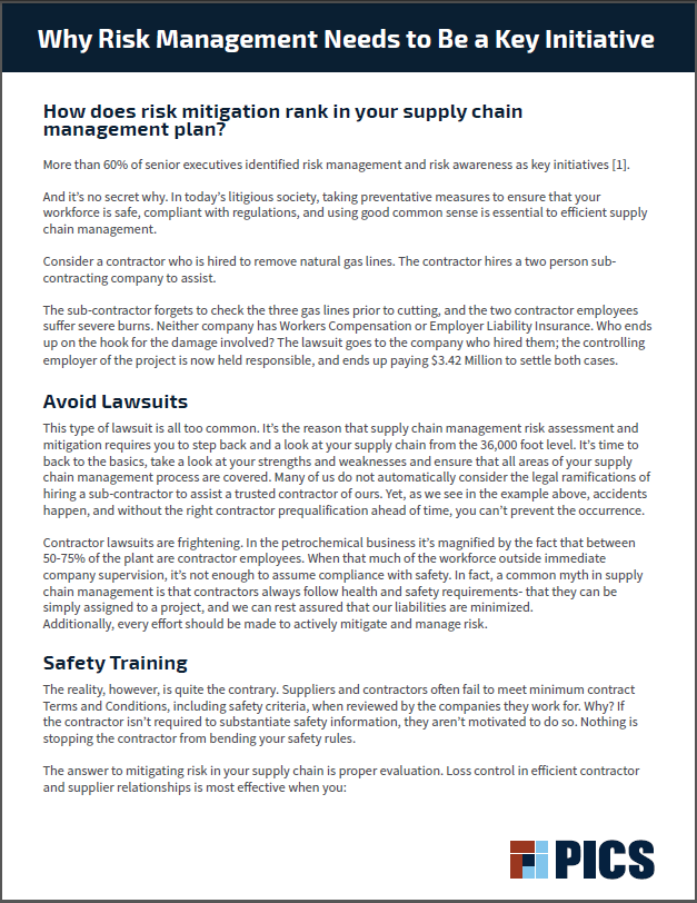 PICS White Paper Cover - Why Risk Management Needs to Be a Key Initiative.PNG